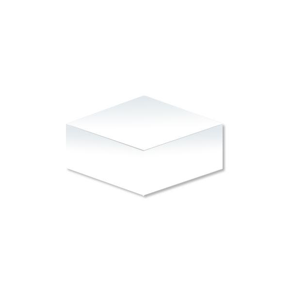 Kostka biała duża nieklejona (84x84x70)